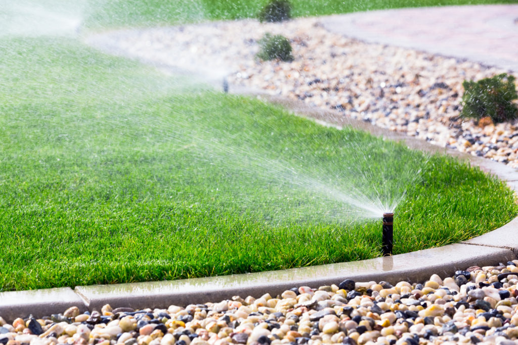 Sprinklers and sod, along with other irrigation supplies are stocked at our stores.