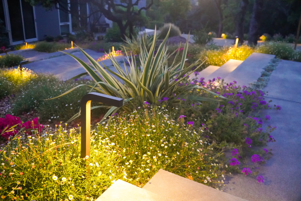 Watersavers outdoor lighting job
