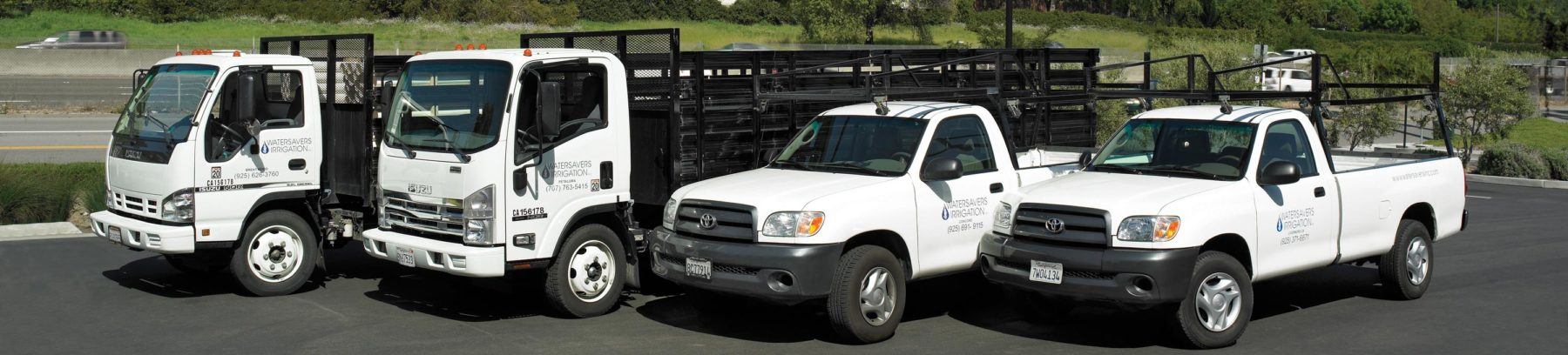 Truck fleet for the best local delivery service in the industry