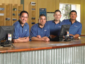 Team members who are enjoying their Bay Area jobs.