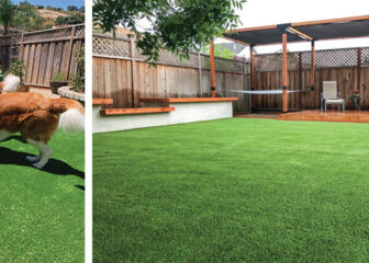 Synthetic turf for your pets and home