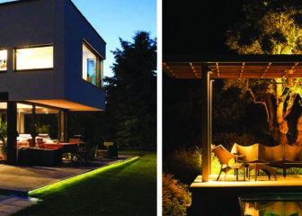 Beautiful landscape lighting design shots