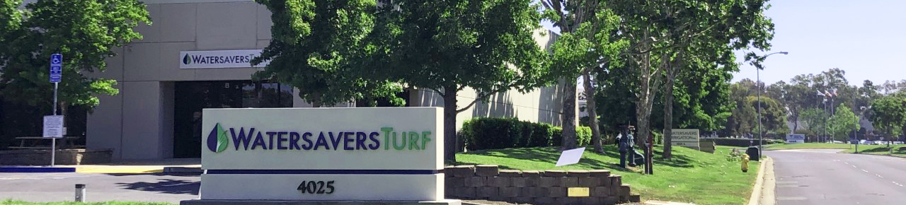 Entrance to Concord Watersavers Turf Warehouse