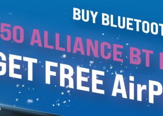 Buy Bluetooth Lighting, Win Free AirPods with Alliance