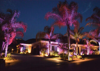 Beautiful Landscape Lighting Installation Pictures